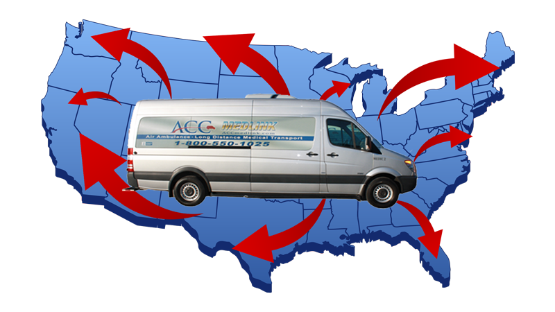 From North Carolina to Any State Medical Transport Service