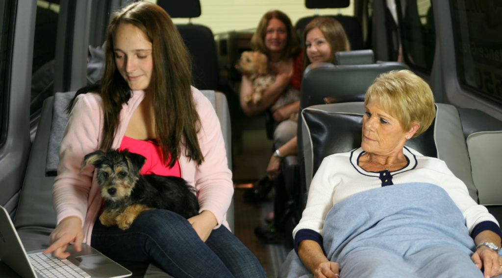 Most Pets Welcome on Medical Transport